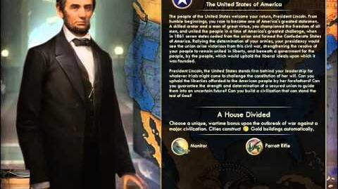 United States of America - Lincoln War