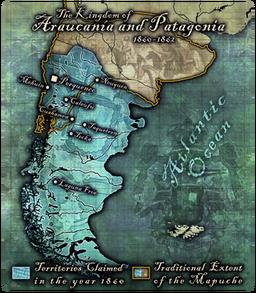 Araucania Patagonia Map512