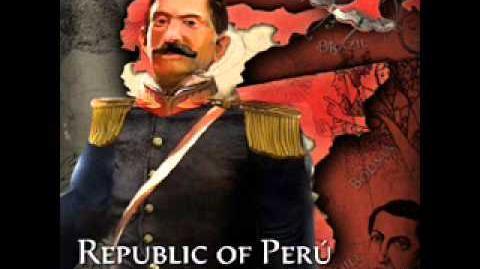 Republic of Perú - Ramon Castilla War