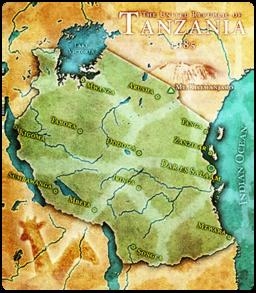 Tanzania Map512