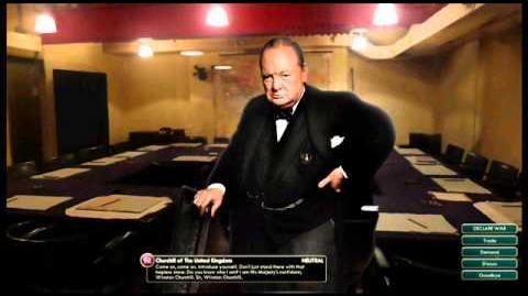 Great Britian - Churchill Peace