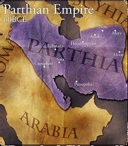 Map parthia