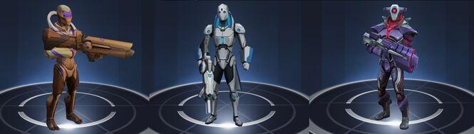 Tier 4 Infantry Melee Hybrid