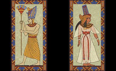 Ramesses II and Cleopatra (Civ2)