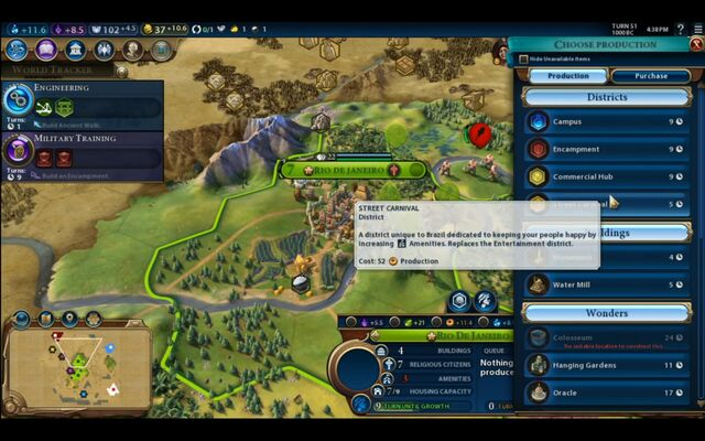 File:Civilization VI - Devs play as Brazil screenshot - City menu 2.jpg