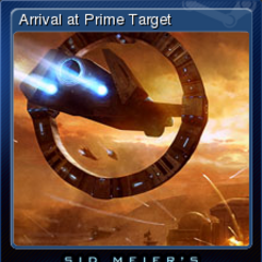 Arrival at Prime Target