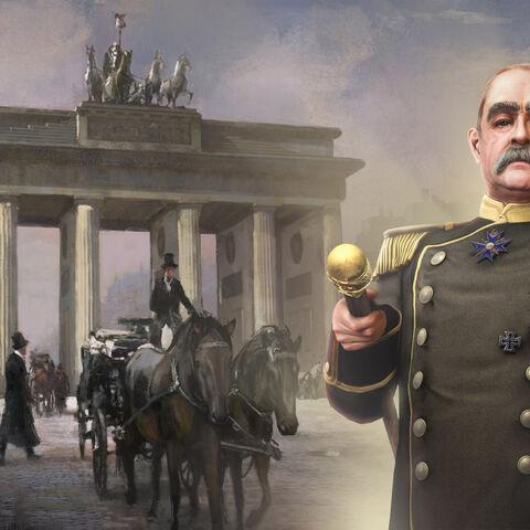 Trading Card full art of Bismarck