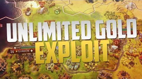 Civilization 6 Unlimited Gold Exploit (Game-breaking Exploit)
