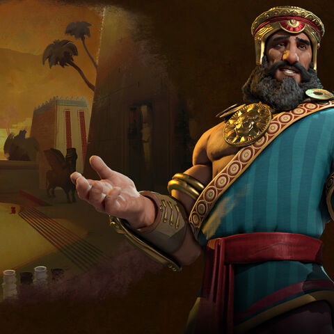 Promotional image of Gilgamesh