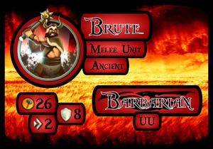 Brute Info Card