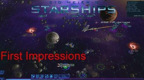 Sid Meier's Starships - First Impression Gameplay