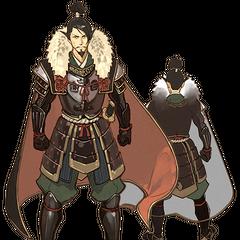 Oda Nobunaga concept art
