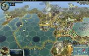 Final Siamese city going down (Civ5)