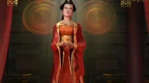 Wu Zetian in Civilization 5