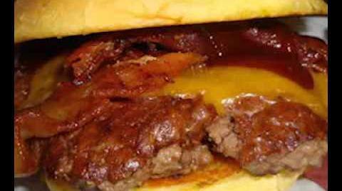 CREEPYPASTA Barbecue Bacon Cheeseburger