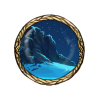 Item snowy mountaintop background