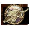 Bison skull