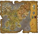 Mapa del mundo de Regnum