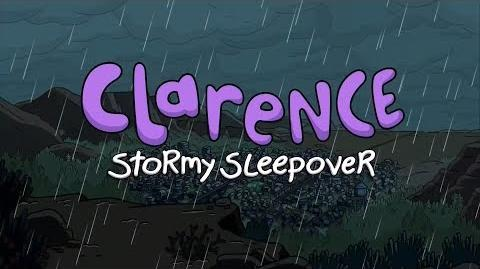 Cartoon Network - Clarence Stormy Sleepover Promo