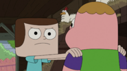Look into your mind, Clarence!