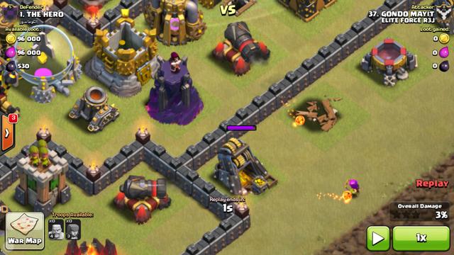 File:2 level 12 cannon kills the last level 3 archer.png