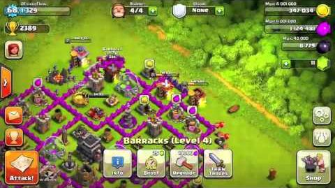 Clash of clans - Road to 3000 trophies step by step Part 1-0