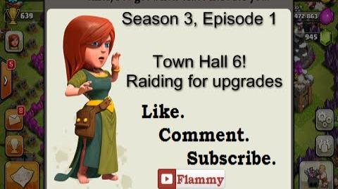 3-1 Let's Play Clash of Clans - Town Hall 6! Raiding for Upgrades (Gameplay Commentary)-0