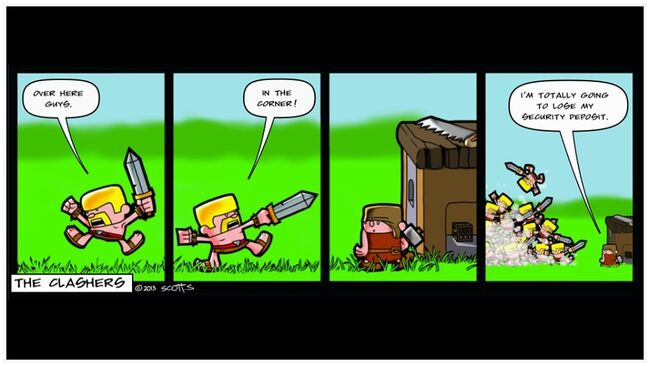 Clashers Comic 1