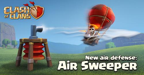 Sneak Peek Air Sweeper