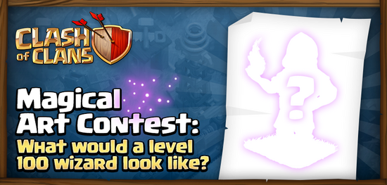 Clash of Clans - Magical Art Contest | Clash of Clans Wiki ...  Clash
