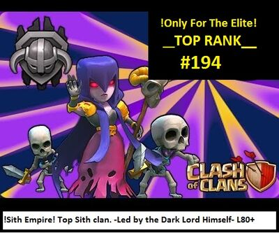 For sith empire done