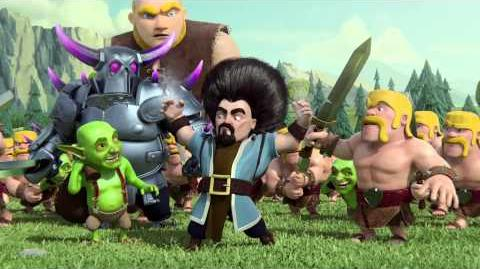 Clash of Clans Hair (Official TV Commercial)
