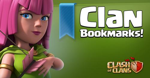 Sneak Peek Clan Bookmarks