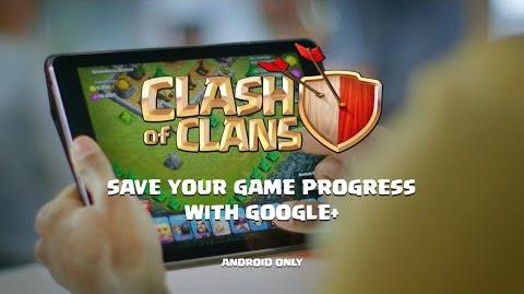 Clash of Clans Save your Game Progress with Google+ (Android)