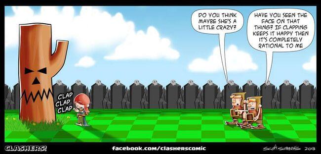 Clashers Comic 30