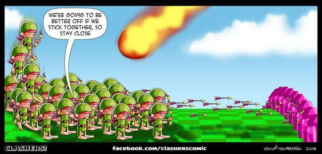 Clashers Comic 36
