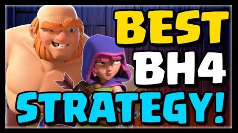 BEST BUILDER HALL 4 ATTACK STRATEGY - Giants & Archers - New CoC Update 13 Clash of Clans