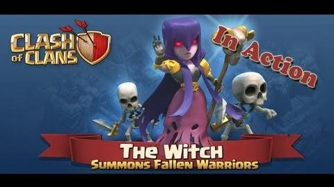 Clash of Clans - Witch in Action - First Video Look at a New Troop