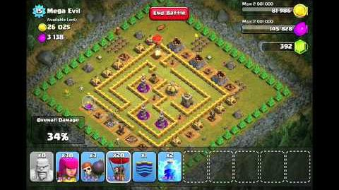Clash of Clans Level 42 - Mega Evil