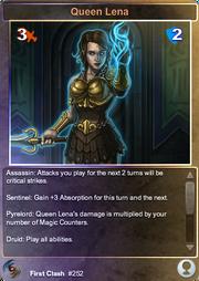 252 Queen Lena (F)