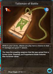 119 Talisman of Battle