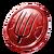 Craft pitchfork token red 2
