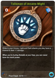 278 Talisman of Arcane Might
