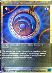 Promo5 Talisman of Arcane Defense (F)