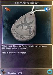 Assassin's Trinket (F)