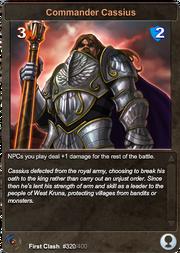 320 Commander Cassius