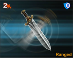 97 Ensorcelled Throwing Knife mini