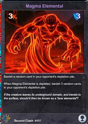 491 Magma Elemental