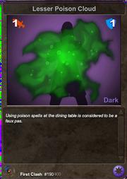 190 Lesser Poison cloud