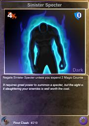 219 Sinister Specter (F)